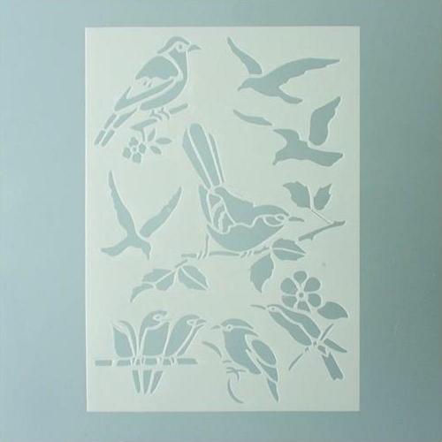 Στένσιλ Efco Α5 forest birds