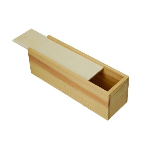 Κουτί ξύλινο Efco συρόμενο 23x7x6 cm πινελοθήκη