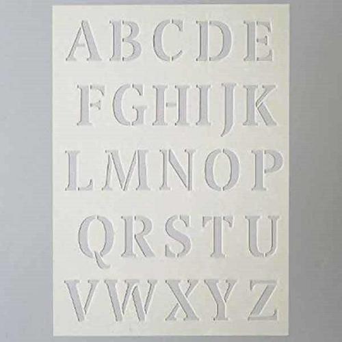 Στένσιλ Efco Α5 large letters