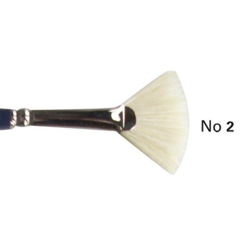 Πινέλο βεντάλια χοιρινή Art 1210 Νο2