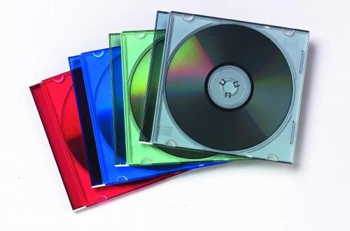 Θήκες cd Fellowes 25τεμ χρωματιστές