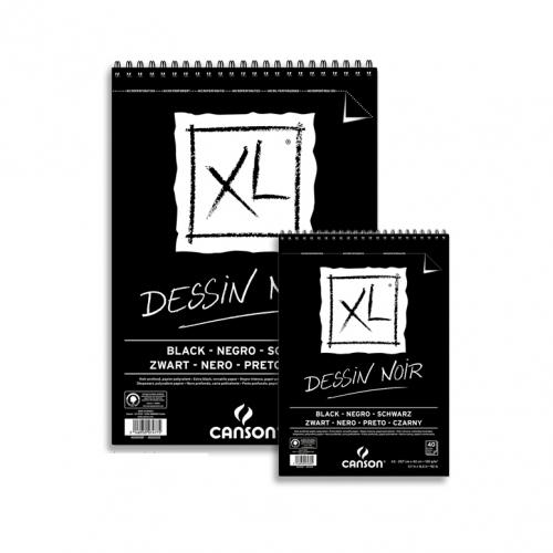 Μπλοκ Canson XL Α3 40 φύλλα μαύρα
