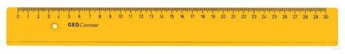 Χάρακας Aristo πορτοκαλί 30 cm