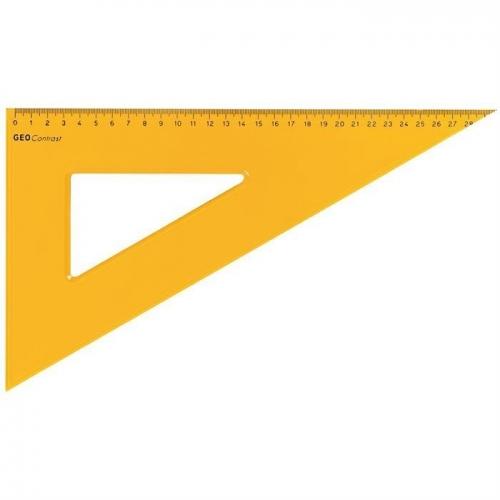 Τρίγωνο Aristo 22632 32cm πορτοκαλί