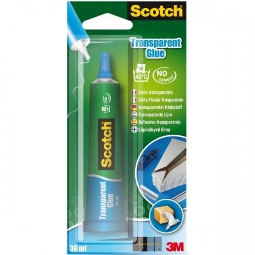 Κόλλα trasparent Scotch 3M 30 ml 3025C χωρίς διαλύτες