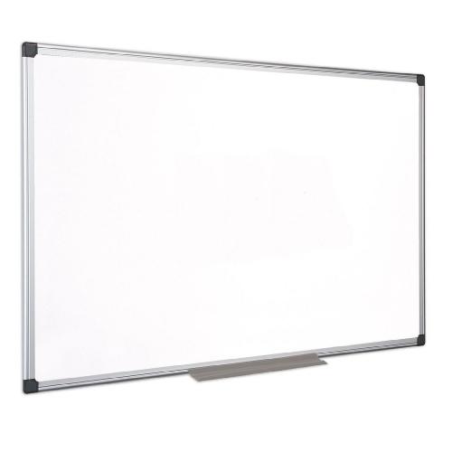 Πίνακας λευκός 120x150 cm πλαίσιο αλουμινίου
