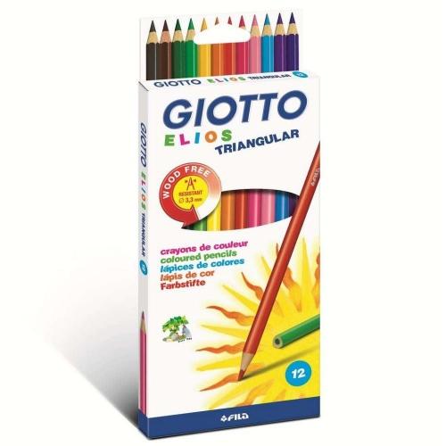 Ξυλομπογιές Giotto Elios τριγωνικές 12 τεμ