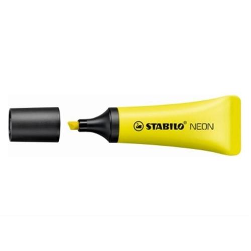Υπογραμμιστής Stabilo neon κίτρινο