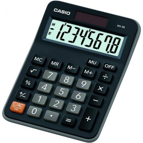 Αριθμομηχανή Casio MX-8B-bk