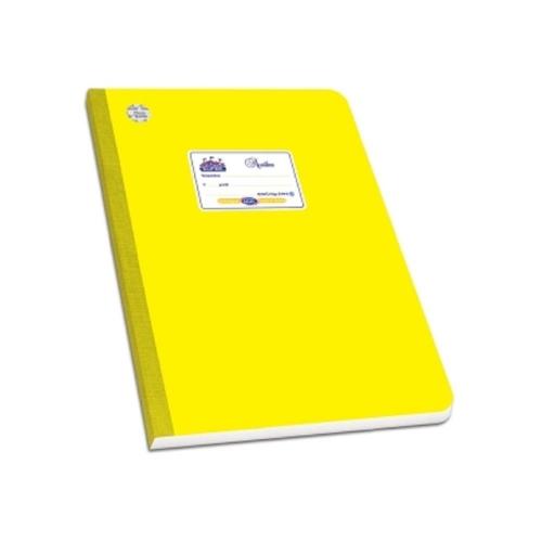Τετράδιο λινόδετο 17x25 60φ Skag κίτρινο