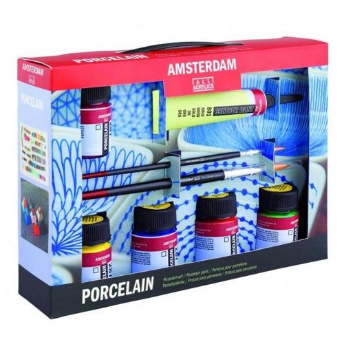 Σετ Amsterdam Porcelain 6x16ml Talens 57821608