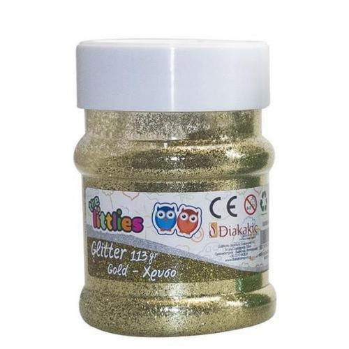 Χρυσόσκονη The littlies αλατιέρα 113gr χρυσή