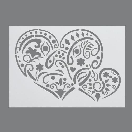 Στένσιλ Efco Α4 hearts