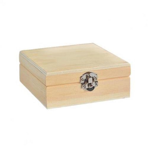Κουτί ξύλινο Efco 10x10x4 cm