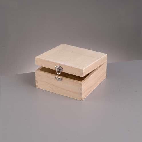 Κουτί ξύλινο Efco 19x19x8,5 cm