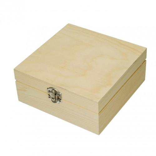 Κουτί ξύλινο Efco 16x16x7 cm