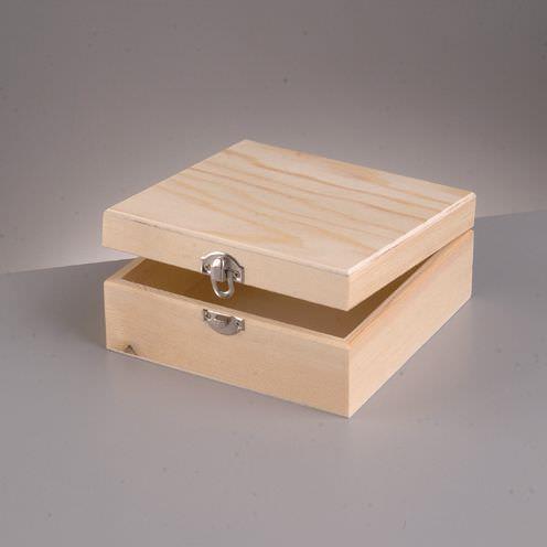 Κουτί ξύλινο Efco 13x13x5,5 cm