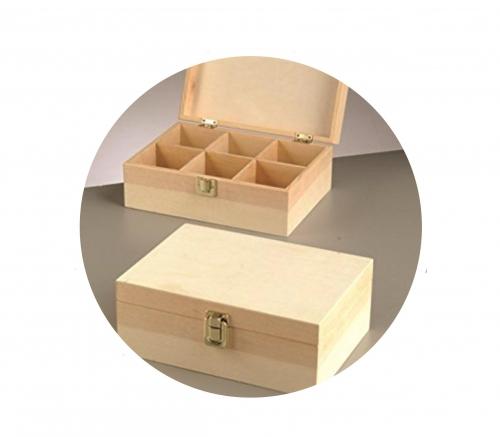 Κουτί ξύλινο Efco 23,5x17x9 cm θήκες