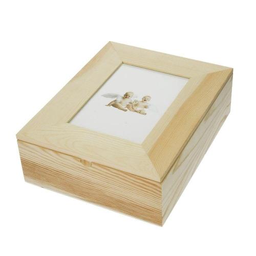 Κουτί ξύλινο Efco 24x19x7,6 cm κορνίζα