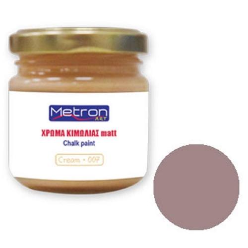 Χρώμα κιμωλίας Metron 110 ml chocolate