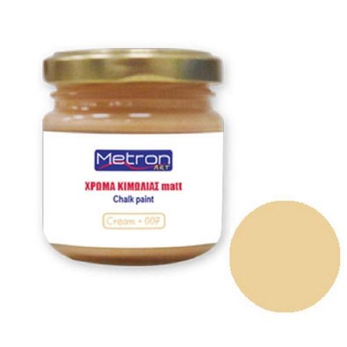 Χρώμα κιμωλίας Metron 110 ml cream
