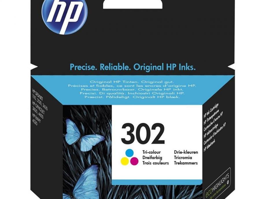 Μελάνι Hp 302 colour F6U65AE