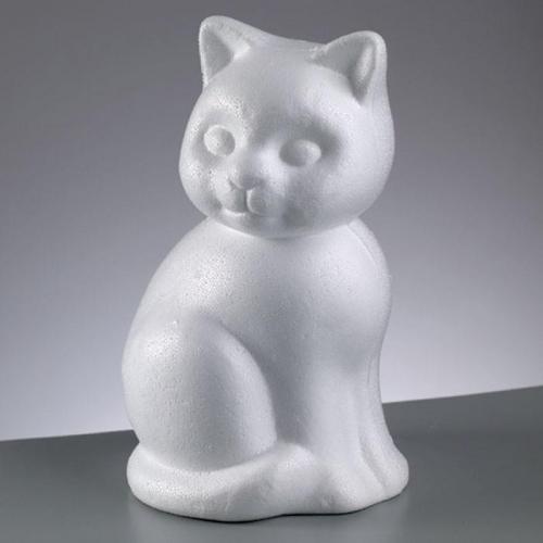 Γάτα καθιστή φελιζόλ Efco 24 cm