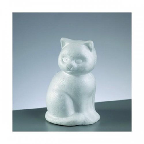 Γάτα καθιστή φελιζόλ Efco 13 cm