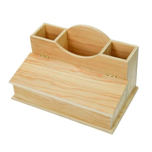 Μολυβοθήκη γραφείου ξύλινη Efco