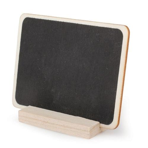 Πινακάκι μαύρο μίνι με σταντ Efco