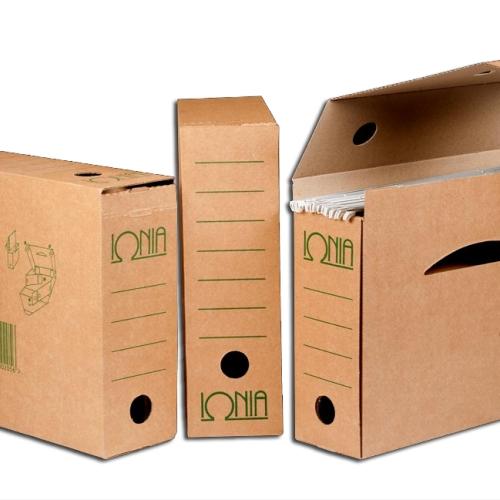 Κουτί με 5 κρεμαστά φάκελα Ιωνία