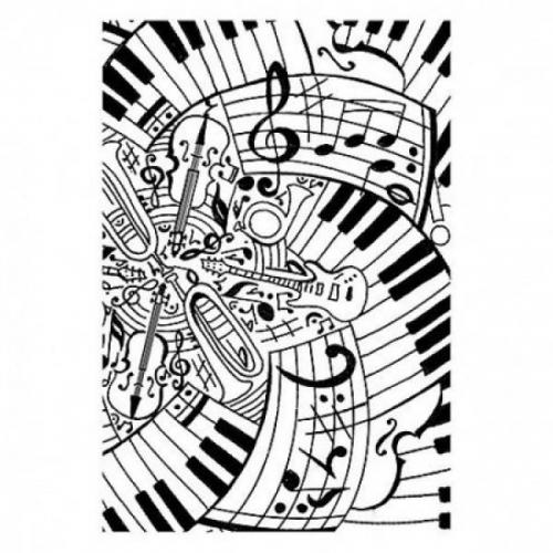 Στάμπες σφραγίδας Α7 music 85