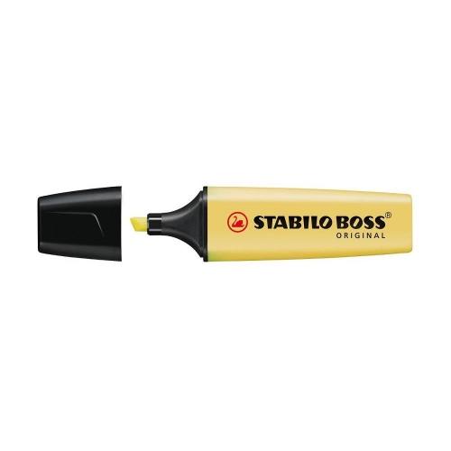 Υπογραμμιστής Stabilo pastel κίτρινο 144