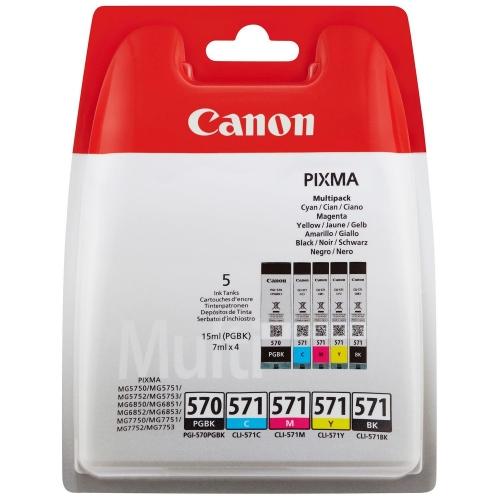 Μελάνια Canon 570-571 multipack