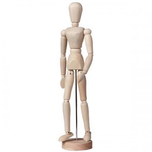 Μανεκέν ξύλινο 30 cm άνδρας