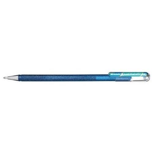 Στυλό Pentel gel hybrid metallic μπλε
