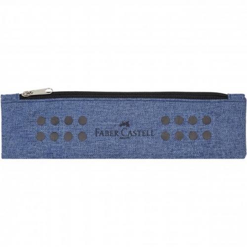 Κασετίνα με ιμάντα Faber grip blue 573151