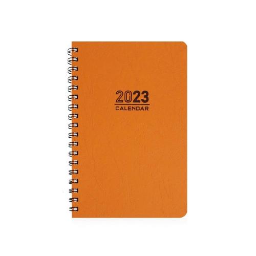 Ημερολόγιο 2022 σπιράλ 21x29 Ekdosis ποτοκαλί