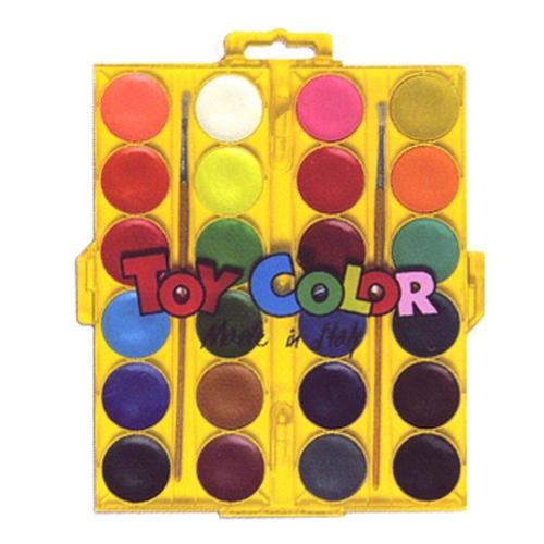 Νερομπογιές Toy Color 24 τεμ.