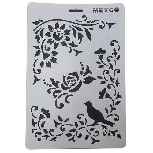 Στένσιλ Meyco Α4 πουλάκι