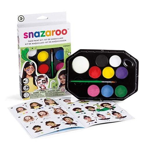 Χρώματα Face Painting Snazaroo 8 παστίλιες unisex