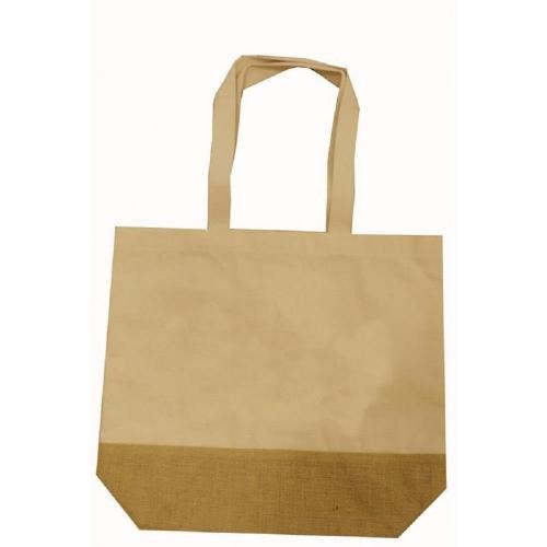 Τσάντα πάνινη λινάτσα με βάση
