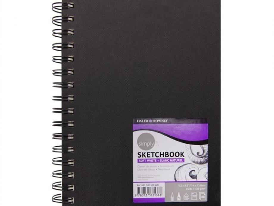 Σημειωματάριο 14x21cm Daler 80φ σπιράλ sketchbook