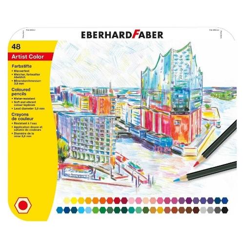 Ξυλομπογίες Eberhard Faber 516148 48τεμ.