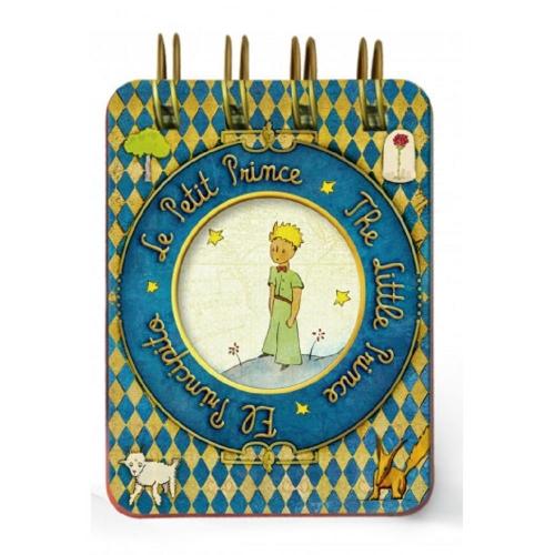 Μπλοκάκι μίνι σπιράλ 6x8 μικρός πρίγκιπας