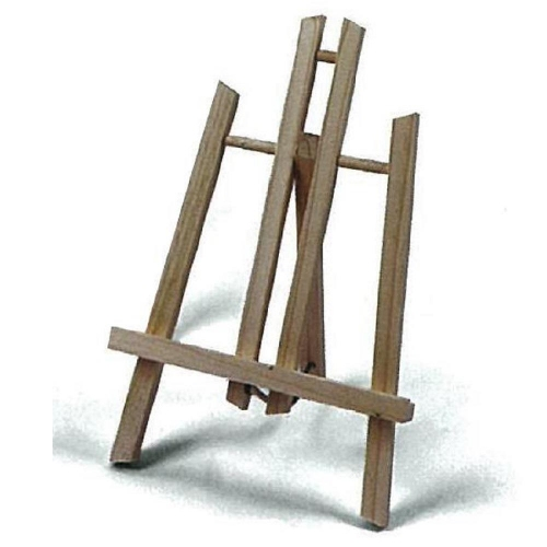 Καβαλέτο τρίποδο Artmate 50x24 cm ξύλινο