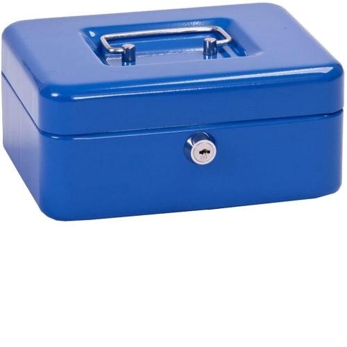Χρηματοκιβώτιο φορητό ταμείο Alco 19,5x14,5x8 cm μπλε