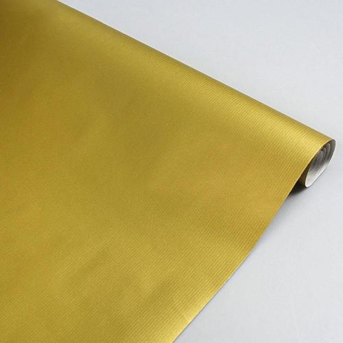 Χαρτί δώρου κράφτ 1x3 m Sadipal χρυσό