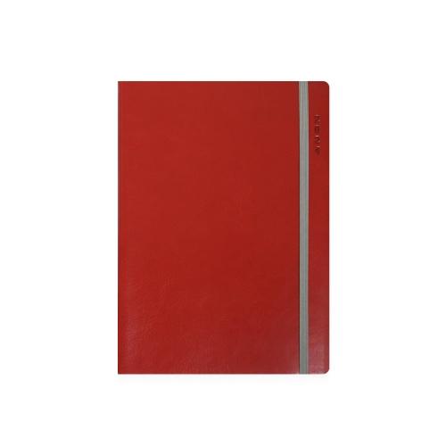 Ημερολόγιο 2022 17x25 ημερήσιο Ekdosis Flex κόκκινο