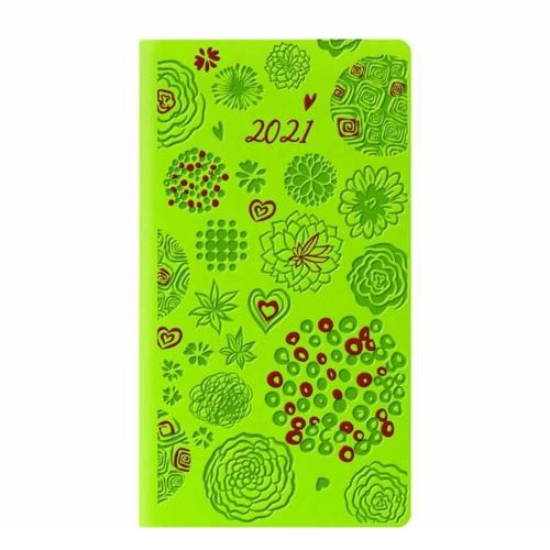 Ημερολόγιο 2021 8x15 εβδομαδιαίο Tucson λαχανί